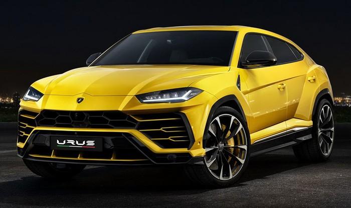 Кроссовер Lamborghini покажут публике в апреле
